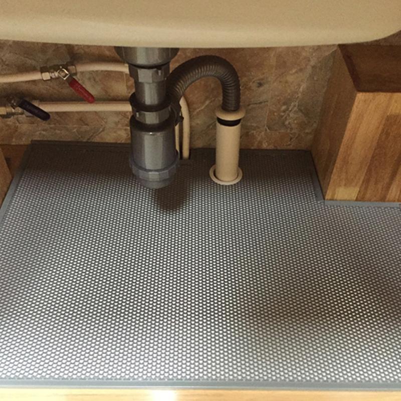 VASE圆形橱柜下水管封边 水槽柜管道配件 橱柜孔塞孔盖软管固定器