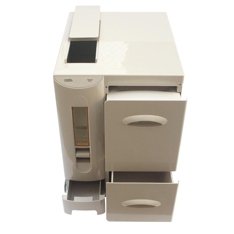 嵌入式厨房米面收纳柜 放面箱大米桶防虫米箱 橱柜抽屉式杂粮柜