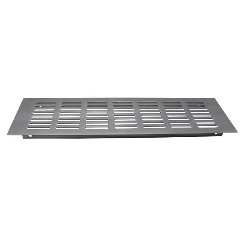 VASE铝合金透气孔盖橱柜鞋柜炉台柜通风网格方形厨房排气网装饰盖
