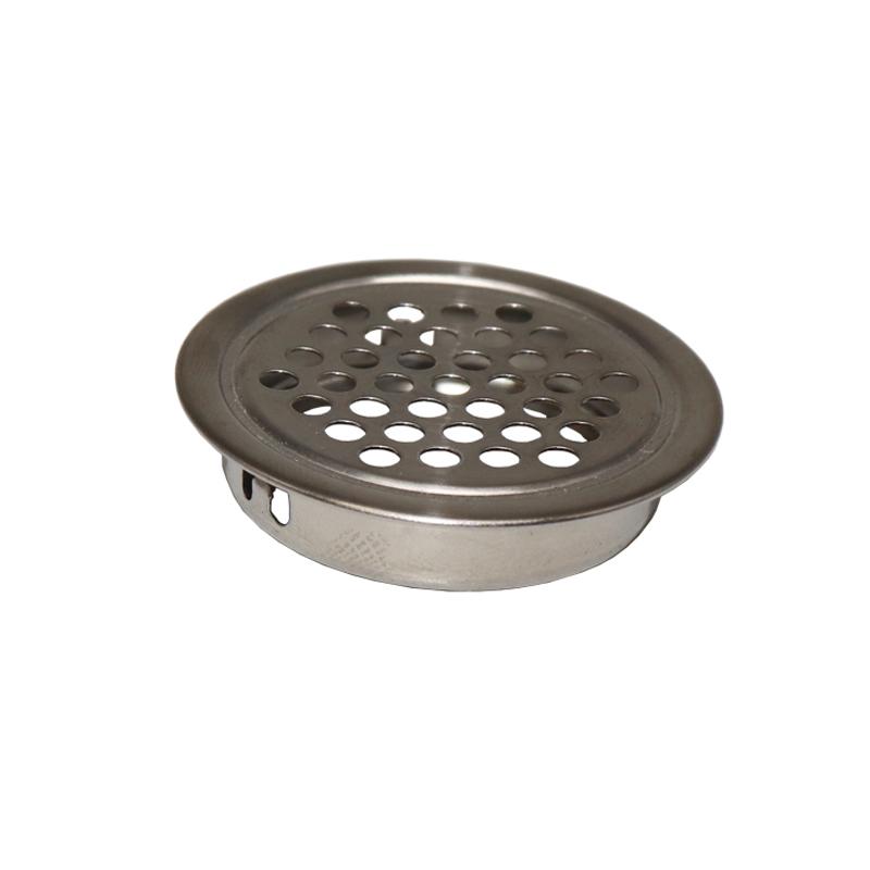 不锈钢通风格橱柜透气孔盖鞋柜换气网炉台柜透气网厨柜五金配件圆