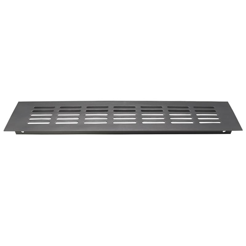 VASE铝合金橱柜透气网水槽柜排气格栅嵌入式透气孔盖炉台柜散热网