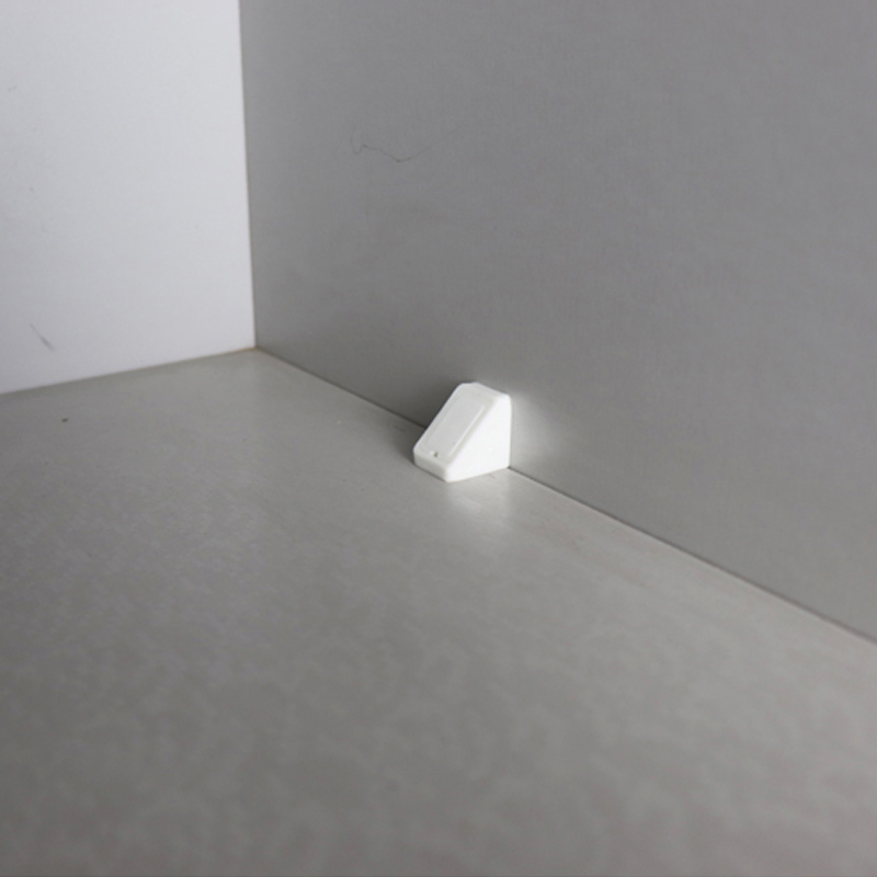 HOFFNUNG 柜角柜板连接件橱柜塑料90度直角固定角码 橱柜衣柜五金配件