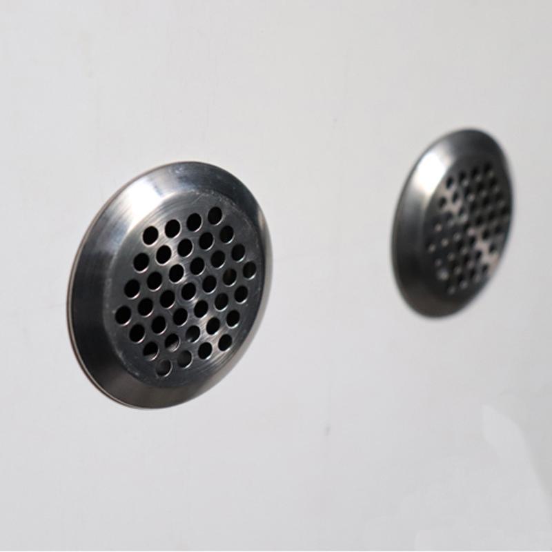 圆形弧面不锈钢橱柜水槽柜鞋柜垃圾桶柜透气网排气网透气孔塞孔盖