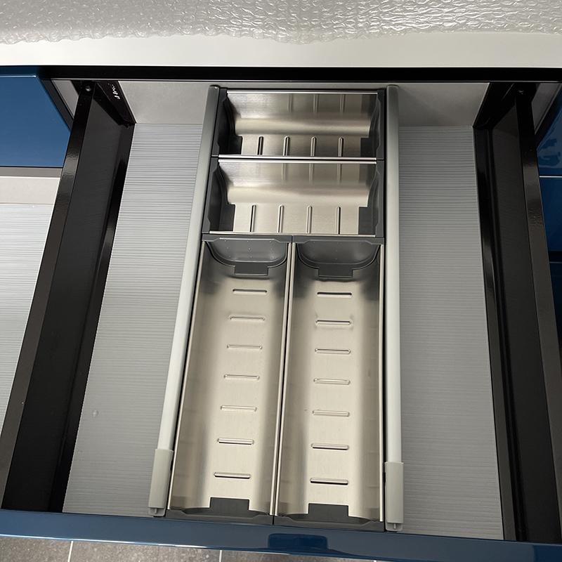 400柜厨房抽屉收纳盒 宿舍抽屉分隔迷你DIY自由组合小置物盒家用