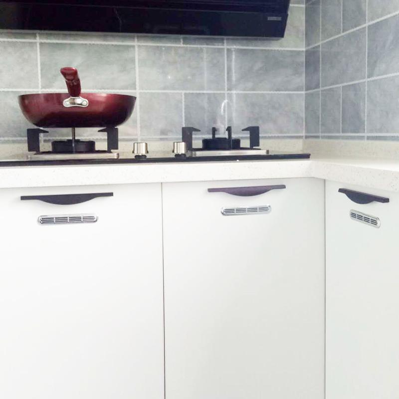 椭圆形橱柜透气孔盖衣柜鞋柜通风孔透气网排气网厨柜门孔装饰盖